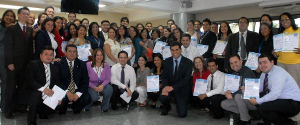 Ganadores del reconocimiento ala excelencia en el servicio Seguros Caracas de Liberty Mutual