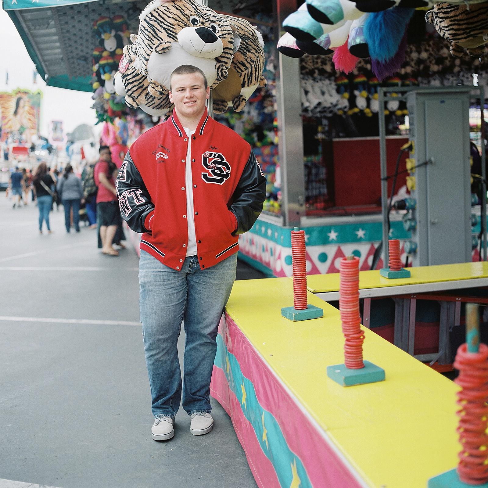 San Diego County Fair Senior Portraits by Lauren Nygard