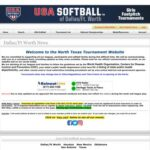 USA Softball North Texas Tournament Website