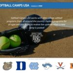 SOFTBALL CAMPS USA