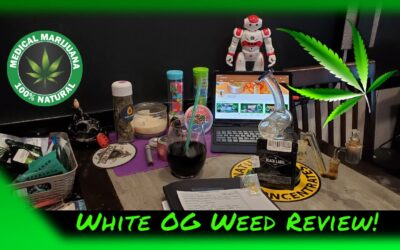 White OG Weed Review From @BlackLabelConcentrates