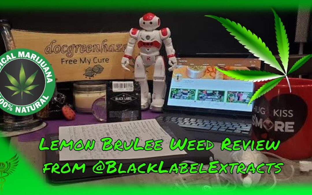 Lemon BruLee Weed Review From @BlackLabelExtracts