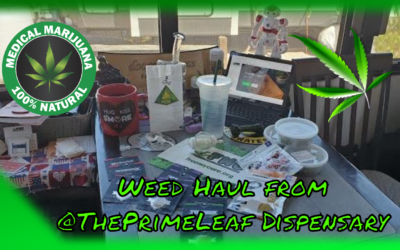 $450 Weed Haul from @ThePrimeLeaf #FreeMyCure