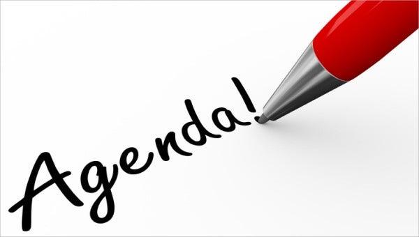 Agenda 5-11-21