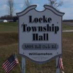 Locke Township Building Sign