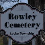 Rowley Cemetery Sign