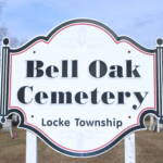 Bell Oak Cemetery Sign