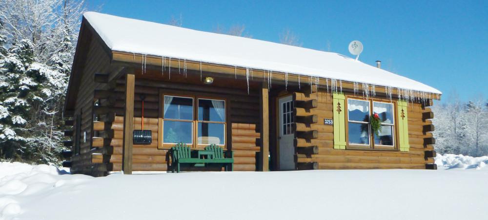 3 winter cottage