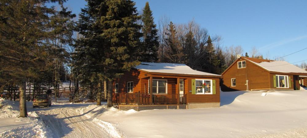 Cabin 1 winter