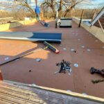 flatroof during