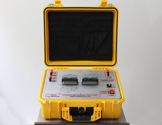 User-friendly DC resistivity tomography switch. User-friendly geophysical instruments.