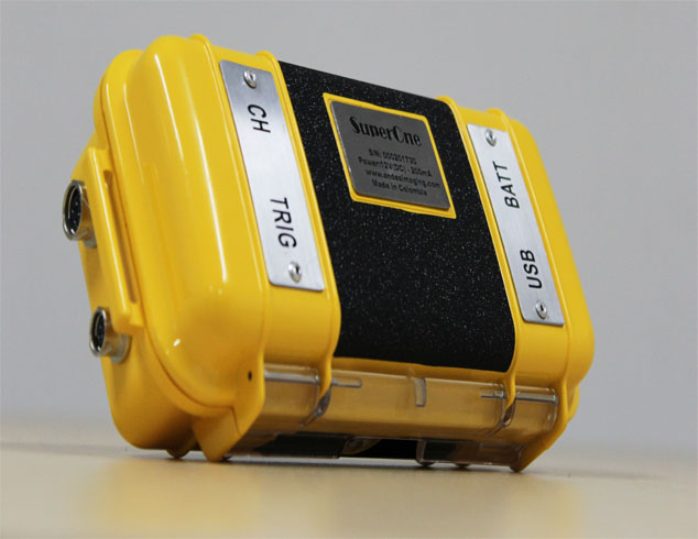 User-friendly single-channel exploration seismograph. User-friendly Geophysical Instruments