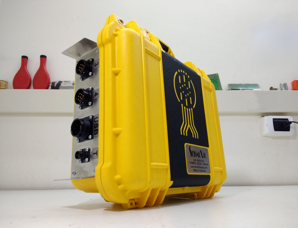User-friendly exploration seismograph. User-friendly Geophysical Instruments