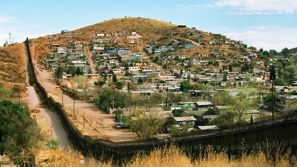 Border Wall at Nogales