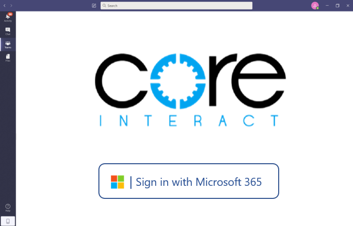 CoreInteract_Login