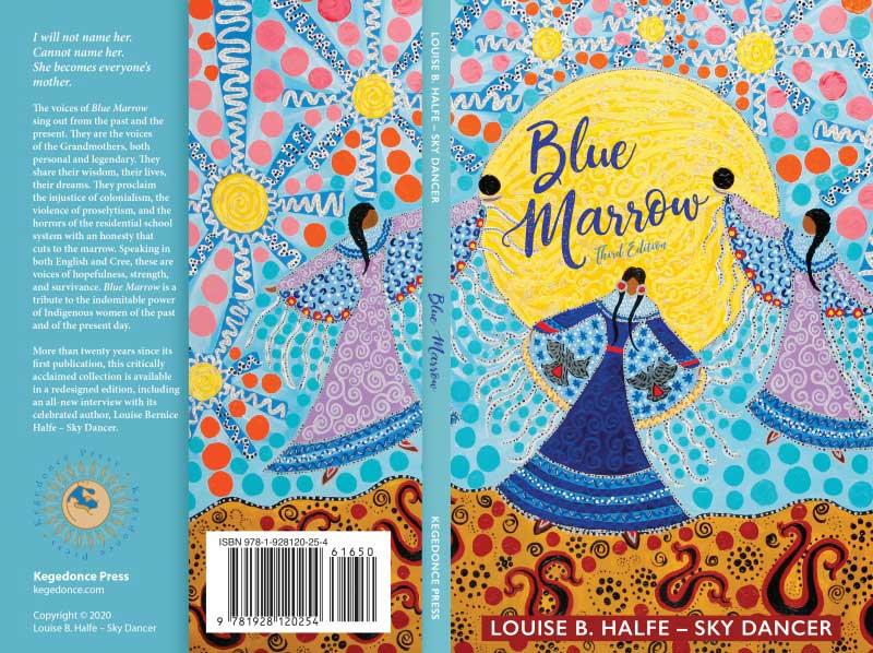 "Leah Dorion's ""Spirit Dancers,"" A Beautiful New Cover for Blue Marrow"