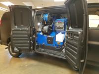 CDS installed black van 1
