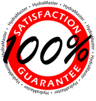 HydraMaster Satisfaction Guarantee Badge