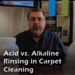 Acid vs alkaline carpet