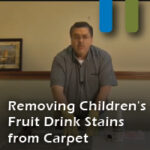 removing drink stains from carpet