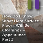floor identification appearance