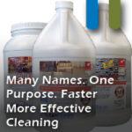 faster more effective cleaning