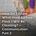 floor identification communication