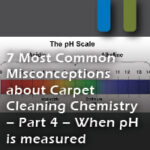 carpet misconceptions ph levels