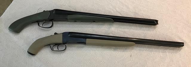Zombie SxS Shotgun Pair