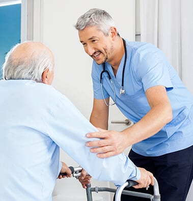 Our on-site Health Care Center provides the care you need for as long as you need it.
