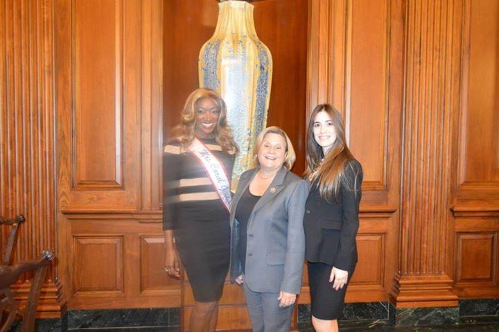 Immigration Lawyer Maithe Gonzalez With Congresswoman Ileana Ros-Lehtinen