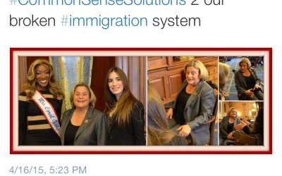 Tweet From Ileana Ros-Lehtinen's Office About Maithe Gonzalez Immigration Lawyer