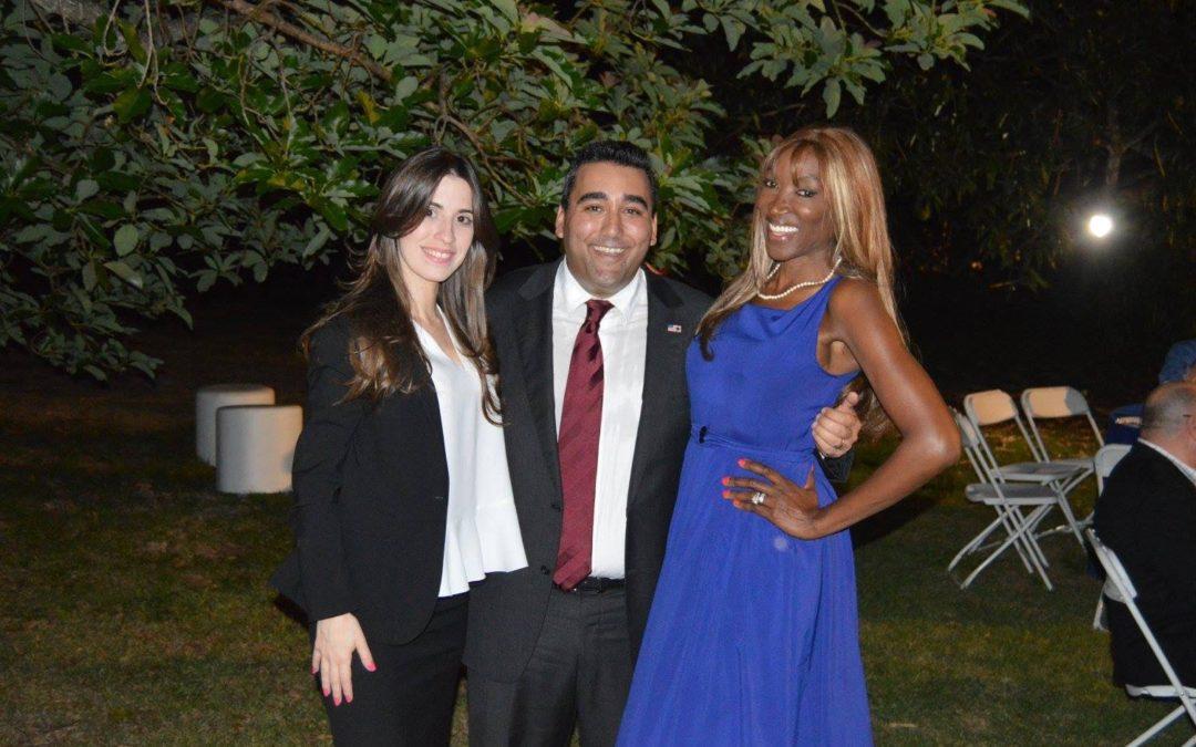 Immigration Lawyer Maithe Gonzalez at Andrew Korge's Fundraiser