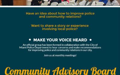 Community Advisory Board Miami March 2017