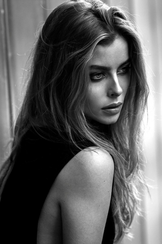 Gabija Varnaite side portrait