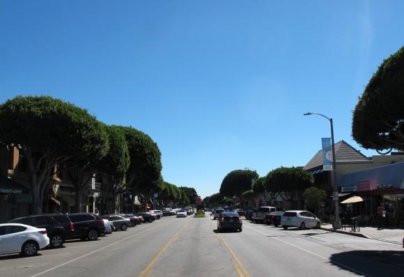 Larchmont Village road