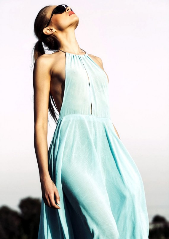 Carolina Gosiewska sunglasses dress