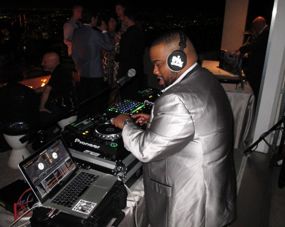 Quincy Jones, Maybach, Icons of Luxury, party