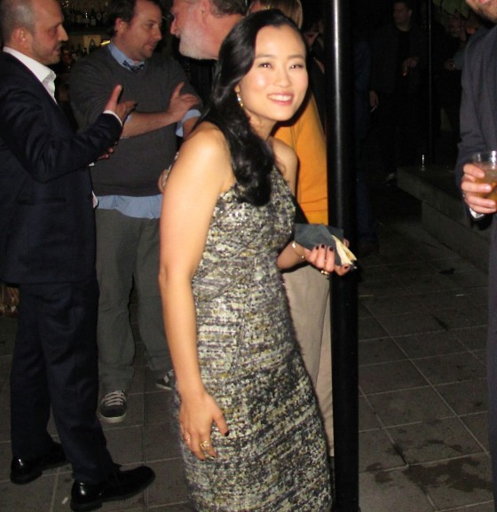The Interview, Diana Bang, movie premiere