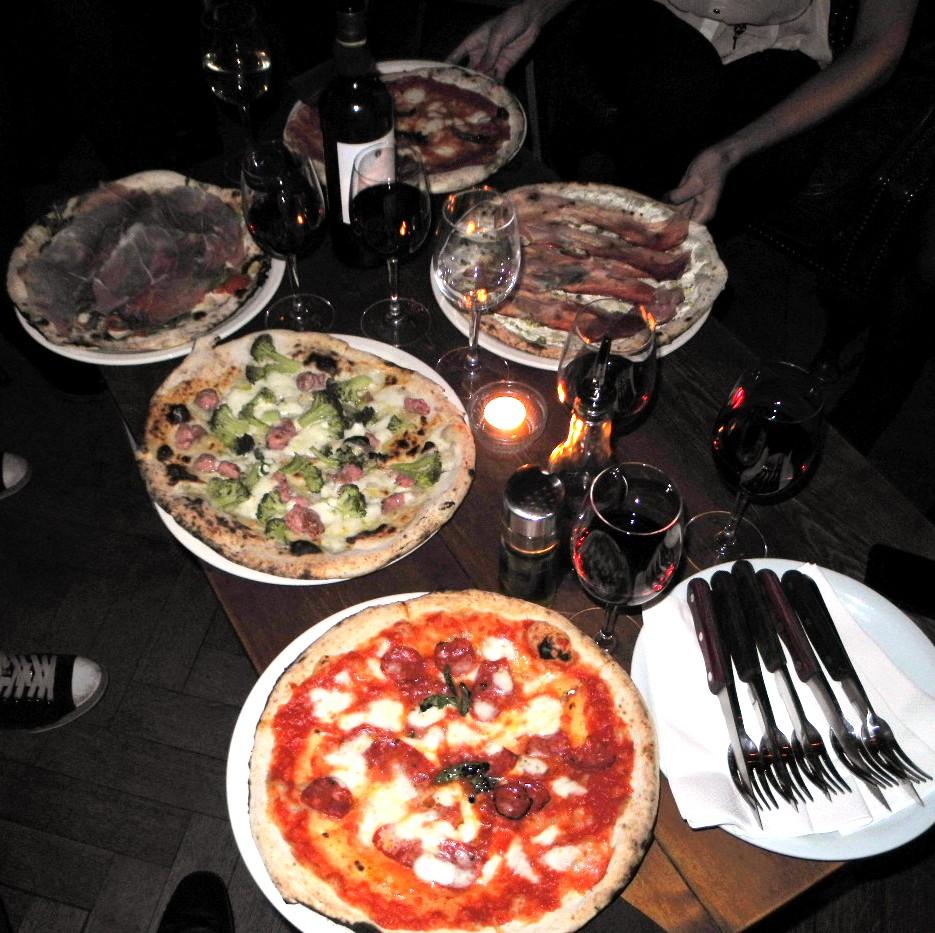B-Soho London Pizza Napoli Naples