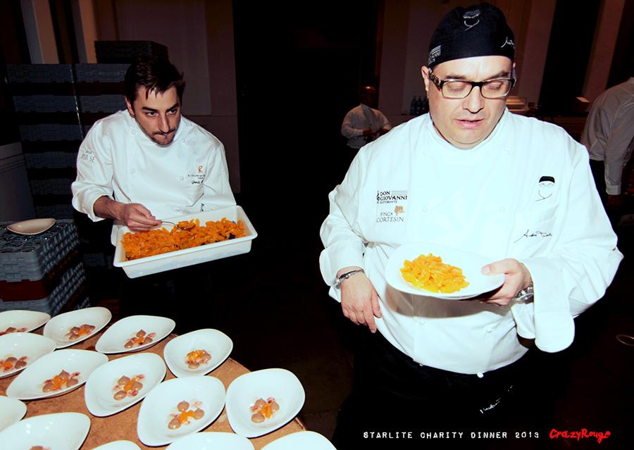 Crazy Rouge+15 Starlite Charity Dinner 2013+Jordi Roca+Andrea Tumbarello