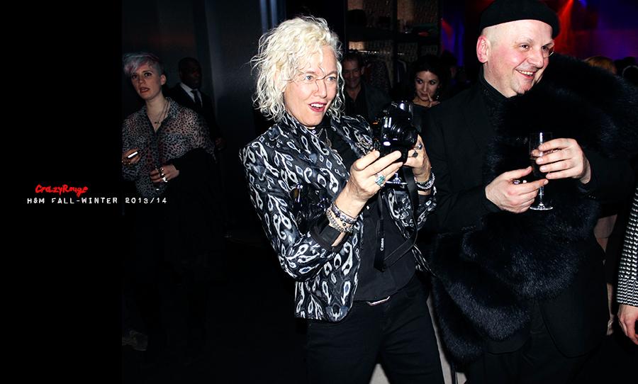 35 Crazy Rouge+Pari+ Ellen Von Unwerth+first+H&M+show