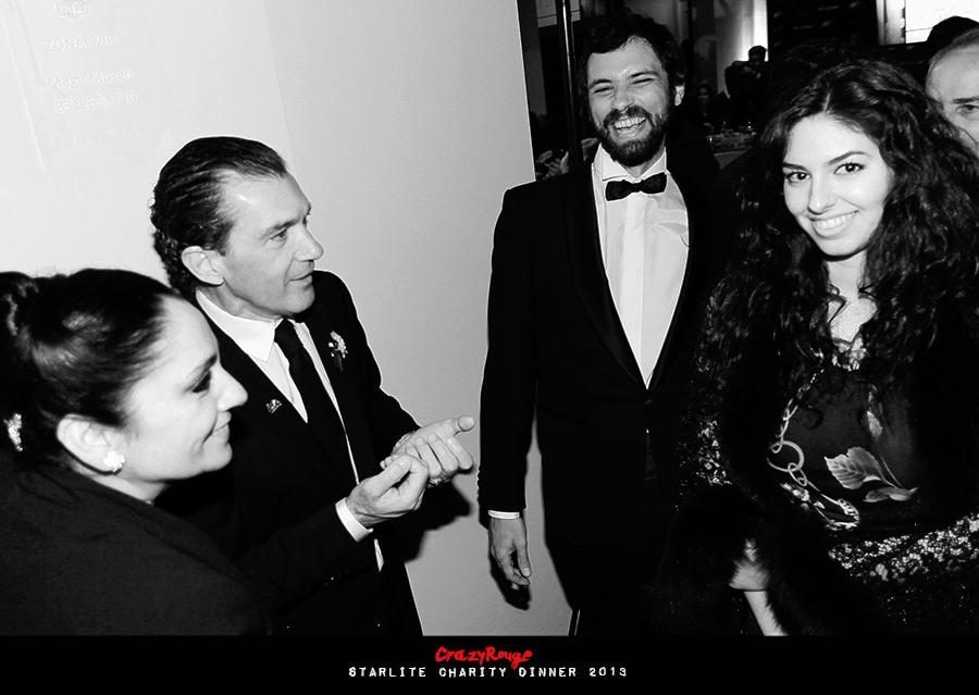 Crazy Rouge+35 Starlite Charity Dinner 2013+Antonio Banderas