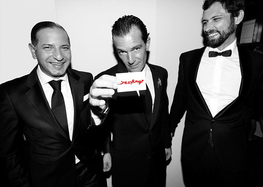 Crazy Rouge+39 Starlite Charity Dinner 2013+Antonio Banderas