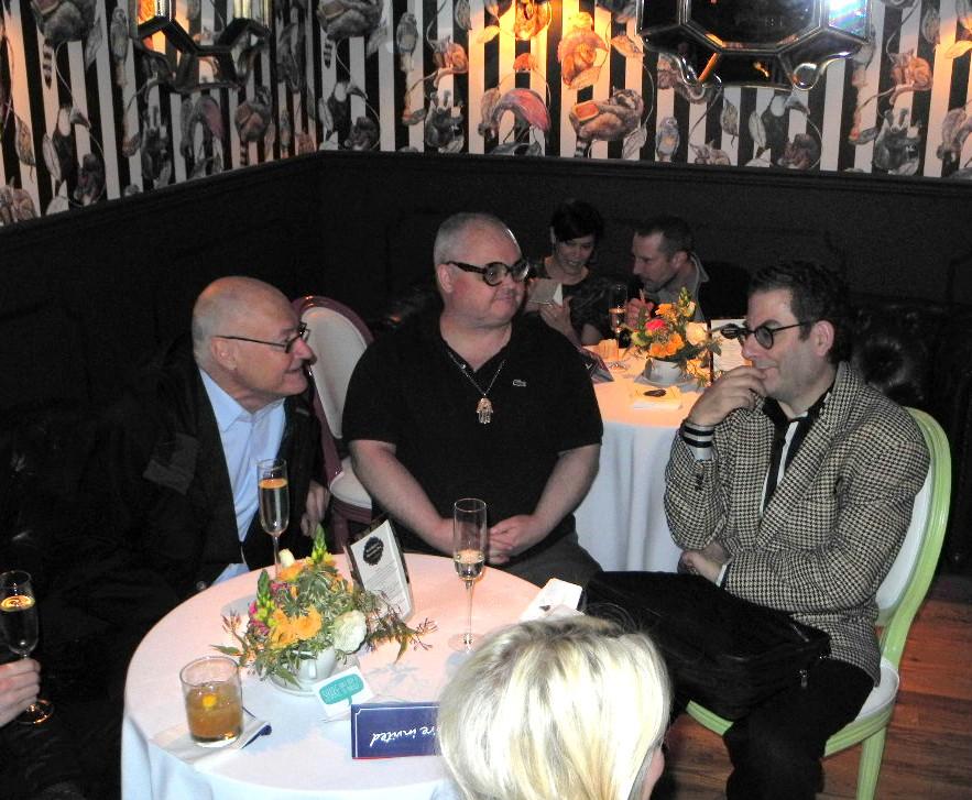 Mickey Boardman+Michael Musto+The Big British Invite