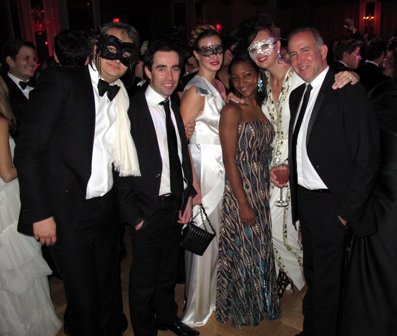 Yan Assoun+Olivier Blaise+Polina Proshkina+Lana Smith+Dionisio Fontana Save Venice Masquerade Ball Un Ballo in Maschera