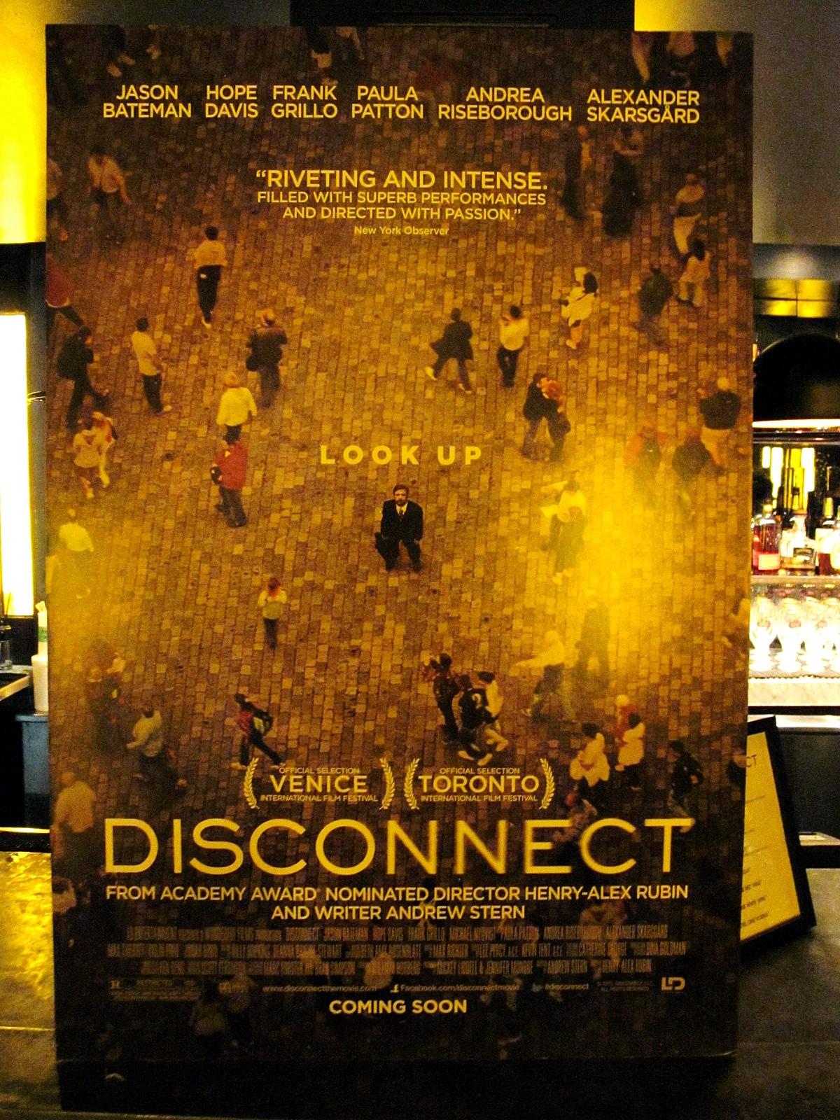 Disconnect movie premiere