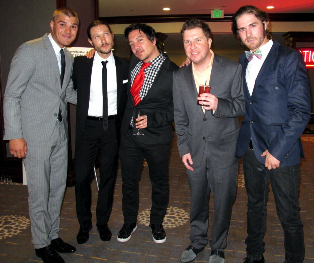 Actor Chris Zylka, Actor Nick Swardson RACE to ERASE MS Gala