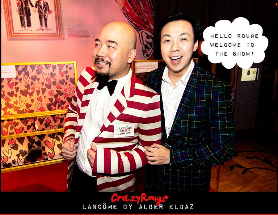 Wyman Wong, Francis Cheng, CrazyRouge, CrazyRougelife, Lancôme show x Alber Elbaz, Lancôme, Make-up, CrazyRougeHongKong