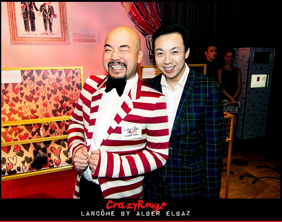 2.Wyman Wong, Francis Cheng, CrazyRouge, CrazyRougelife, Lancôme show x Alber Elbaz, Lancôme, Make-up, CrazyRougeHongKong